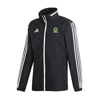 adidas Club Team Torres Tiro 19 All Weather Jacket - Adult - Black/White