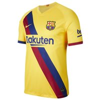 Nike FC Barcelona 2019/20 Short Sleeve Stadium Away Jersey - Adult - Varsity Maize