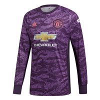 adidas Manchester United FC Official 2019/20 Home GoalKeeper Jersey - Adult - Purple