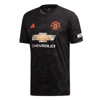 adidas Manchester United FC Official 2019/20 Third Jersey - Adult - Black
