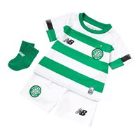 New Balance Celtic FC Official 2019/20 Home Kit - Infants - Green/White