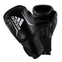 Speed 50 Boxing Gloves - Black/Red by adidas