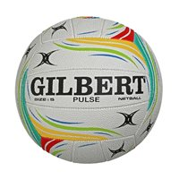 Gilbert Pulse Match Netball - Size 5 - Multi