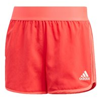 adidas Training Marathon Shorts - Girls - Shock Red/White