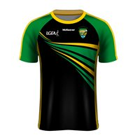 Mc Keever Killrossanty Brickley LGFC Jersey - Womens - Black/Green/Yellow