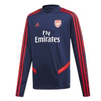 adidas Arsenal FC Official 2019/20 Long Sleeve Training Top - Youth - Navy