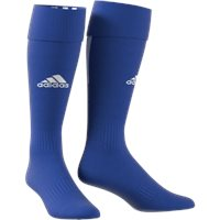 adidas Santos 18 3 Stripe Football Socks - Youth - Bold Blue/White