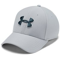 Under Armour Men's Blitzing 3.0 Cap - Mod Grey/White