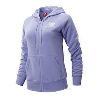 New Balance Essentials Full Zip Hoodie - Womens - Lilac