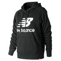 New Balance Essentials Pull Over Hoodie - Womens - Black