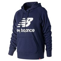 New Balance Essentials Pull Over Hoodie - Womens - Navy