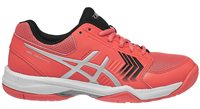Asics Gel-Dedicate 5 Tennis Shoes - Womens - Papaya/Silver