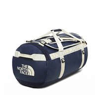 The North Face Base Camp Duffel Bag - Montague Blue/Vintage White Small