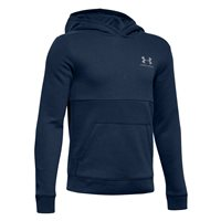 Under Armour Cotton Fleece Hoodie - Boys - Academy/Steel