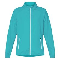 Pro Touch Tobaga ii Full Zip Running Jacket - Womens - Blue Aqua/Turquoise
