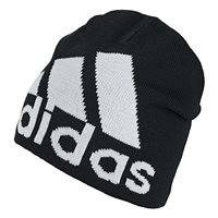 adidas Big Logo Beanie - Adult - Black/White