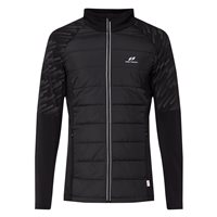 Pro Touch Bayo ii UX Running Full Zip Jacket - Mens - Black/AOP/Reflective