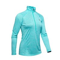Under Armour Tech Twist 1/2 Zip Training Top - Womens - Breathtaking Blue