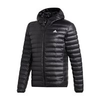 adidas Varilite Hooded Down Jacket - Mens - Black