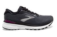 Brooks Adrenaline GTS 20 Running Shoes - Womens - Black/White/Hollyhock