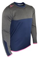 Mc Keever League 20 Sweat Top - Adult - Navy/Charcoal/Pink/Melange