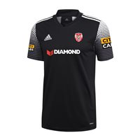 adidas Club Derry City FC Regista 20 Away Jersey - Adult - Black/White