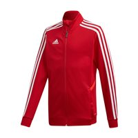 adidas Tiro 19 Training Jacket - Youth - Power Red//Red/White