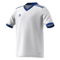 adidas Tabela 18 Jersey - Youth - White/Bold Blue