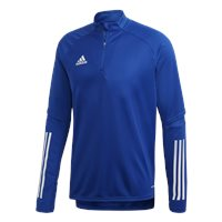 adidas Condivo 20 Training 1/4 Zip Top - Adult - Royal Blue