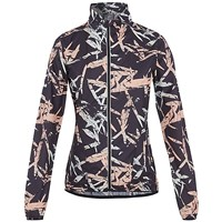 Pro Touch Jessi Full Zip Running Jacket - Womens - All Over Print/Black/Anthracite