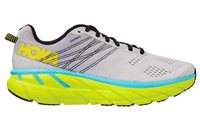 Hoka One One Clifton 6 Running Shoes - Mens - Lunar Rock/Nimbus Cloud