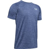 Under Armour Tech 20 Short Sleeve Tee - Boys - Blue Ink/Rift Blue