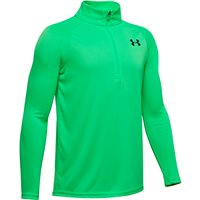 Under Armour Tech 20 1/4 Zip Top - Boys - Vapor Green/Black