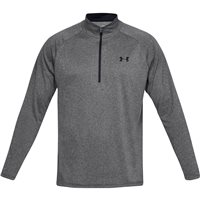 Under Armour Tech 2.0 1/2 Zip Training Top - Mens - Carbon Heather/Black