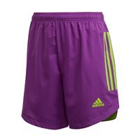 adidas Condivo 20 Shorts - Youth - Glory Purple/Team Semi Solar Green
