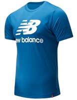New Balance Essentials Tee - Mens - Blue