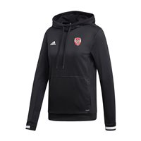 adidas Club Derry City FC Team 19 Hoodie - Womens - Black/White