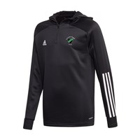adidas Club Parnells GAA Condivo 20 Track Hooded Top - Youth - Black/White