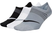 Nike Everyday Lightweight Socks - Womens - Black/White/Grey