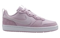 Nike Court Borough Low 2 PE Big Kids Shoes - Girls - Rose Pink