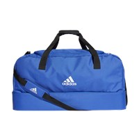 adidas Tiro Bottom Compartment Large Duffle Bag - Bold Blue/White