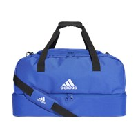 adidas Tiro Bottom Compartment Medium Duffle Bag - Bold Blue/White
