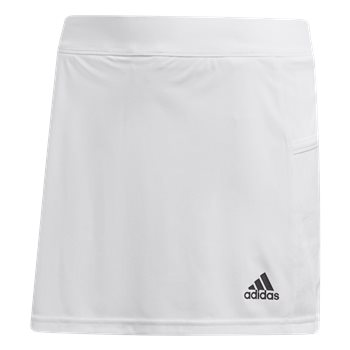 adidas Team 19 Skort - Youth - White  - Click to view a larger image