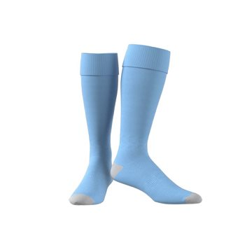 adidas Referee 16 Socks - Adult - Bright Cyan/Black  - Click to view a larger image