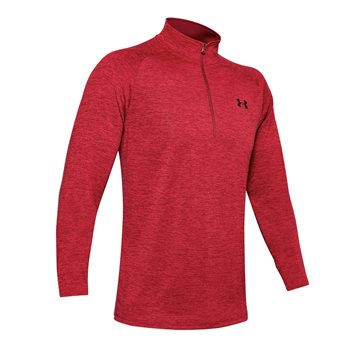 Under Armour Tech 2.0 1/2 Zip Training Top - Mens - Cardova/Black  - Click to view a larger image