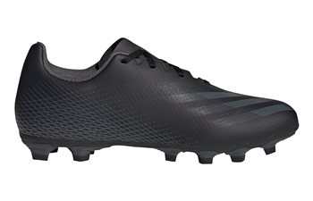 adidas X Ghosted.4 FxG Football Boots - Adult - Black/Grey/Black  - Click to view a larger image