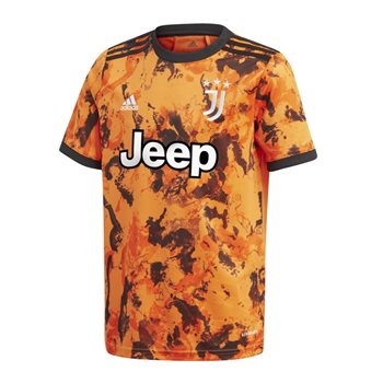 adidas Juventus FC Official 2020/21 Short Sleeve 3rd Jersey - Youth - Bahora  - Click to view a larger image