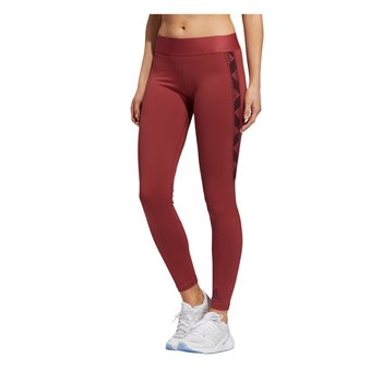 adidas ASK BOS Training Tights - Womens - Legend Red/Maroon  - Click to view a larger image