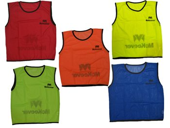 Mc Keever Training Mesh Bibs (Age 812)  Pack Of 15