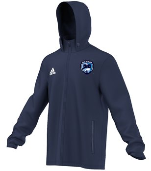 Adidas County Dublin Core 15 Rain Jacket  Adult  Navy